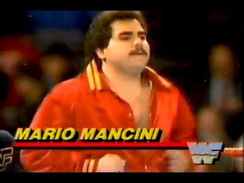 Wrestling Jobber Mario Mancini 1985 Youtube