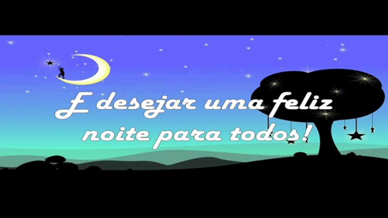 Boa Noite Amigos (Mensagem De Boa Noite)