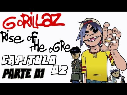 Gorillaz Rise of the ogre | Capitulo 2 P1 Murdoc Niccals El Engendro de Stoke