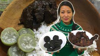 Smoked Pork with Anishi | Ao Naga Recipe YouTube Videos