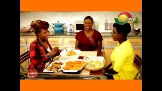 Asanka Delight - Menu: Jollof rice with salad & fried fish - with Louisa Annan - 8/5/2016