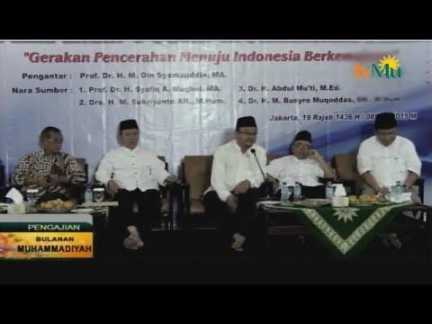 PENGAJIAN BULANAN 8 MEI 2015-GERAKAN PENCERAHAN MENUJU INDONESIA BERKEMAJUAN