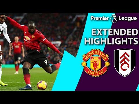 Man United v. Fulham I PREMIER LEAGUE EXTENDED HIGHLIGHTS I 12/8/18 I NBC Sports