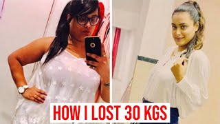 How I Lost 30 Kgs in 6 Months By SUMAN | Weight Loss Journey, Transformation & Motivation Tips