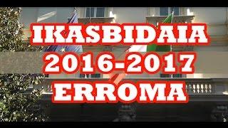 Ikasbidaia 2016-2017 Erroma