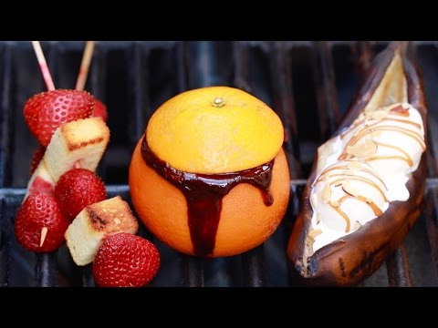 3 Summer Desserts (Outdoor BBQ Episode) - Gemma's Bigger Bolder Baking Ep 78