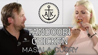 Tandoori Chicken Masala Curry - Ankerkraut kocht