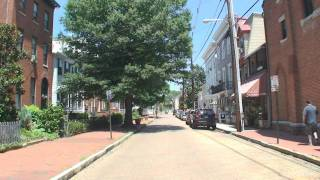 annapolis md the streets of historic annapolis pt 2 maryland avenue