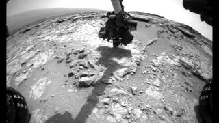 Curiosity Rover Report (Jan. 10, 2013): Giving Mars the Brush-off