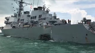 Remains found from USS John S. McCain collision