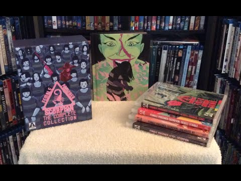 FEMALE PRISONER SCORPION: Complete Collection Blu Ray Unboxing & Review