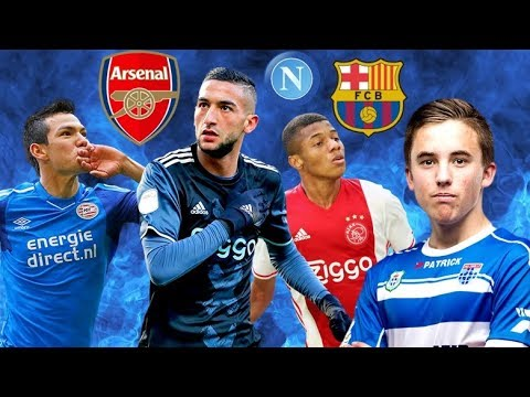 Top 10 eredivisie players ready for big summer transfers 2018
