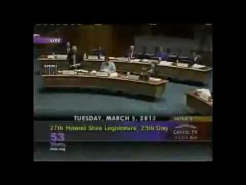 The Morning After Pill debated in Hawaii Senate