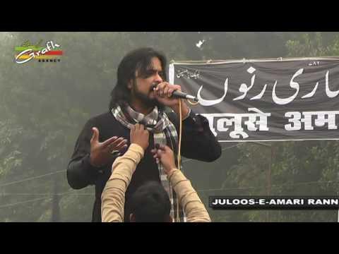 Syed Irfan Haider Pakistan | Juloos-e-Amari Ranno Jaunpur | 2nd Rabiul Awwal 1438-2016