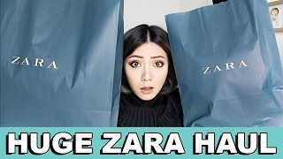 ZARA NEW COLLECTION TRY ON HAUL SPRING 2017