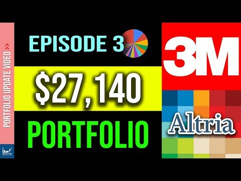 My $27000 Dividend Stock Portfolio (Episode 3 - October 2019)