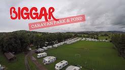 BIGGAR caravan park and pond | SCOTLAND travel