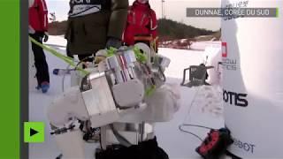 JO de PyeongChang : les robots se battent pour les médailles d'or en slalom