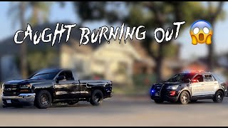 8 Hrs With My NEW TRUCK & Almost Got It Taken Away **CAUGHT DOING DONUTS**