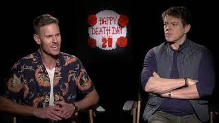 Happy Death Day 2U || Jason Blum & Christopher Landon Junket Interview || #SocialNews.XYZ
