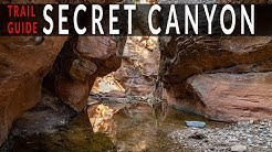 Secret Canyon - Sedona, AZ - Trail Guide to backpacking in the Secret Canyon Wilderness