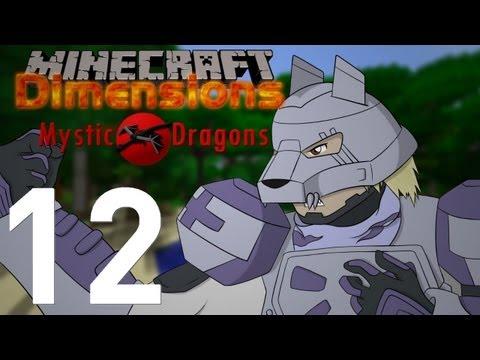 Minecraft Dimensions [S2-12] - Mystic Dragons : Le parchemin des ténèbres