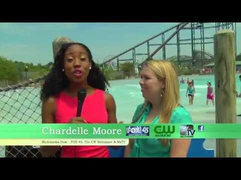Chardelle Moore Hersheypark Commerical