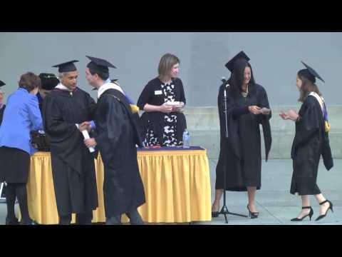 Berkeley-Haas MBA Graduation Ceremony 2015