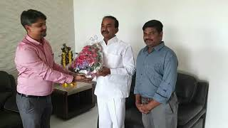 Atharv Welfare Society Meeting of Health minister of Telangana Sri Eatala Rajender