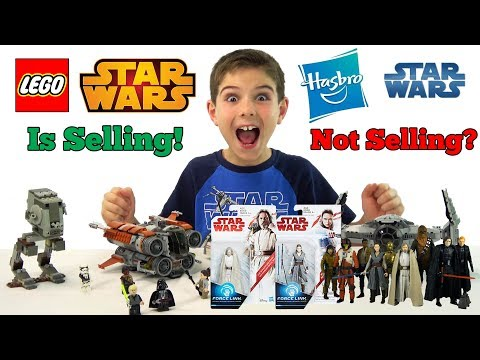 Why Star Wars Hasbro Toys Are Not Selling But LEGO Star Wars Flies Off Shelves