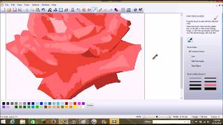 Sew Art - 2016 - How to Digitize a Photo of a Rose for Embroidery
