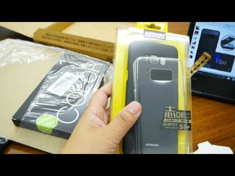 【開封】Galaxy s8 一週間使用インプレッション&TPU保護フィルム・耐衝撃カバーを購入!