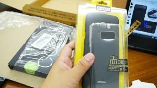【開封】Galaxy s8 一週間使用インプレッション&TPU保護フィルム・耐衝撃カバーを購入! thumbnail
