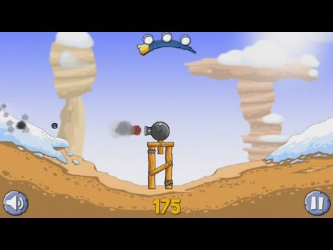 Снежное Безумие (Crazy Snowballs)(Android) - gameplay.