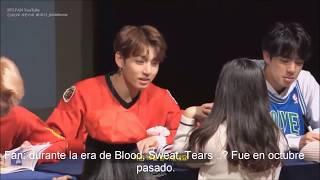 Sub español. Jungkook reconoce a u a fan que vio hace un año 😃