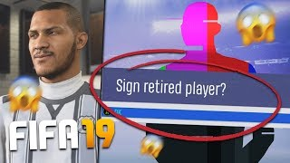 WHAT IF EVERY PLAYER RETIRED ON FIFA 19 CAREER MODE? *MAD GLITCH*