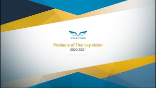 Products of Thai sky vision 2020-2021