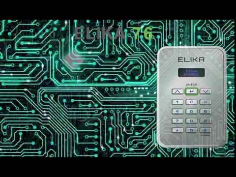 Elika 76 Wireless Access Entry Control and Intelligent Keypad