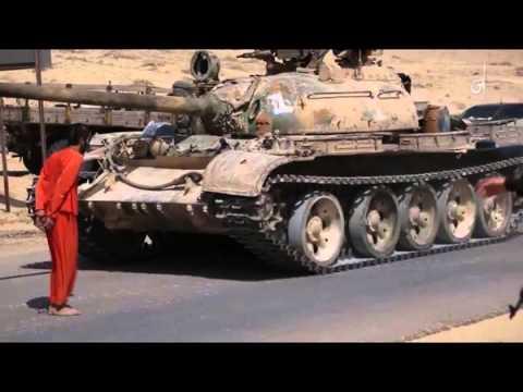 داعش يعدم بالدبابة