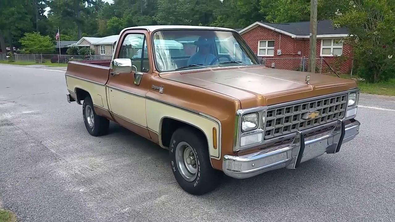1980 cheyenne chevrolet c10 v8 survivor swb chevy truck