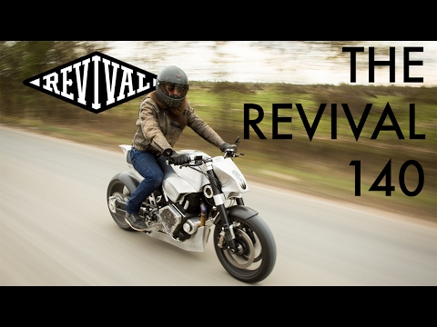 The Revival 140 - A Revival Cycles Custom Confederate Motorcycles Build
