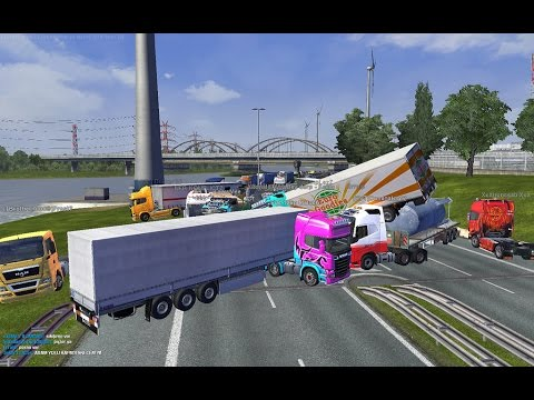 Euro Truck Simulator 2 EUROPA 3 TRUCKERS MP MILANO/LONDON