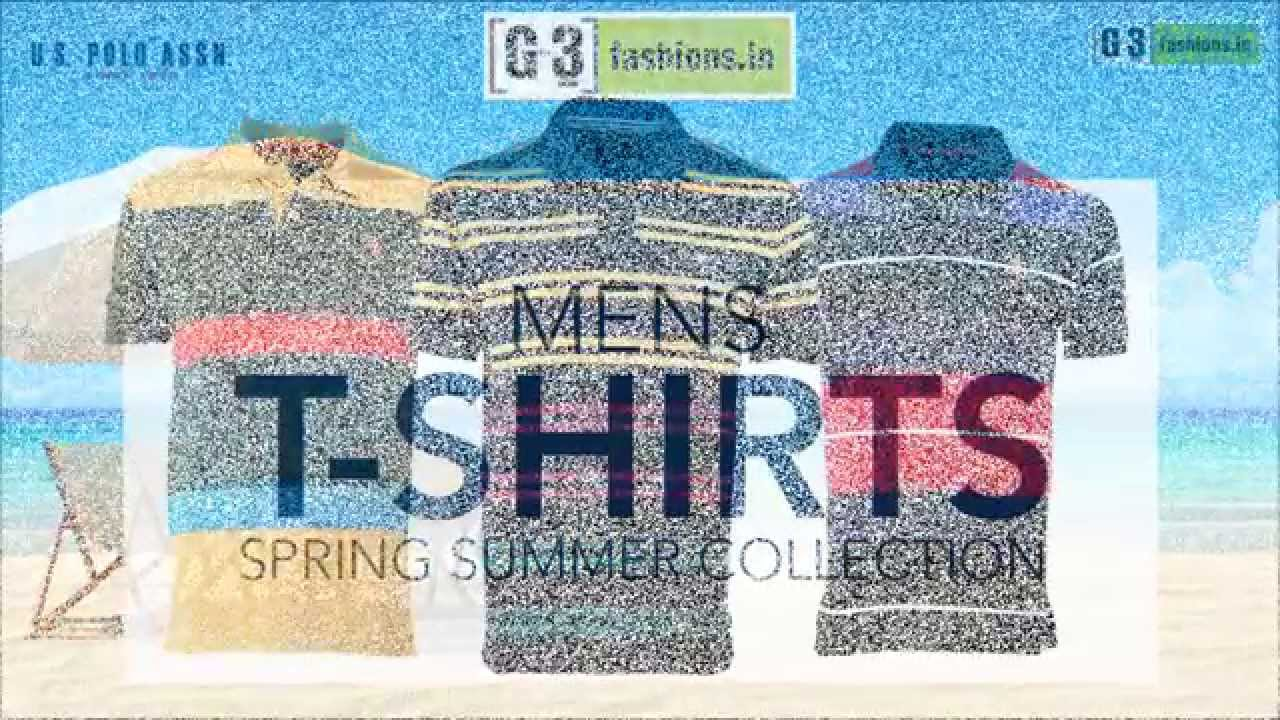 Top 11 Men's T-shirts Brands of Spring/summer 2015