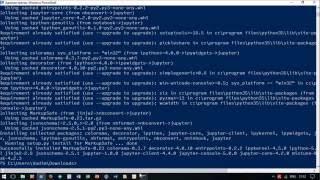 Установка Python и математических библиотек в Windows 10