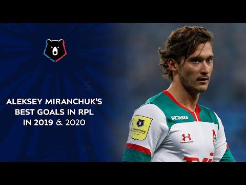 Aleksey Miranchuk's Best Goals in RPL in 2019 & 2020