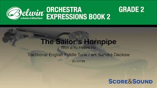 Download The Sailor's Hornpipe arr. Sandra Dackow - Score & Sound MP3 song and Music Video