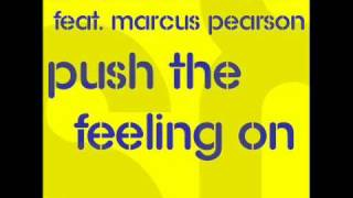 U-Ness & Jedset feat. Marc Pearson - Push The Feeling On (Radio Edit)