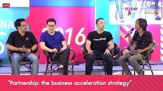 """เสวนา  """"Partnership: the business acceleration strategy"""""""