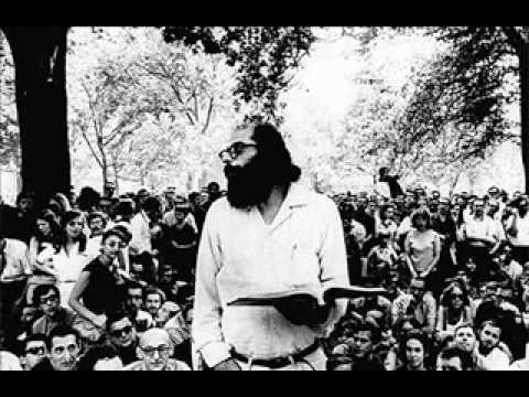 Allen Ginsberg Reading Howl (Part 1) - YouTube