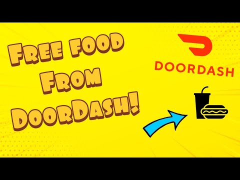 How To Get Free Food From DoorDash 2020!! 100% Working!